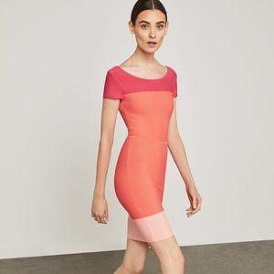 NWT BCBGMAXAZRIA Jacquetta Colorblocked Dress